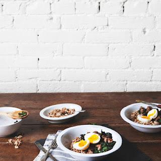 Savory Winter Breakfast Bowl.