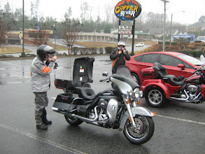 Photo: Good job on the route Mike. We found Copper River Grill.