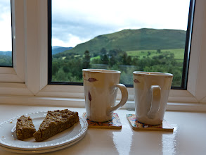 Photo: Hot tea and flapjacks were waiting for us at the Ellas Crag B&B when we checked in