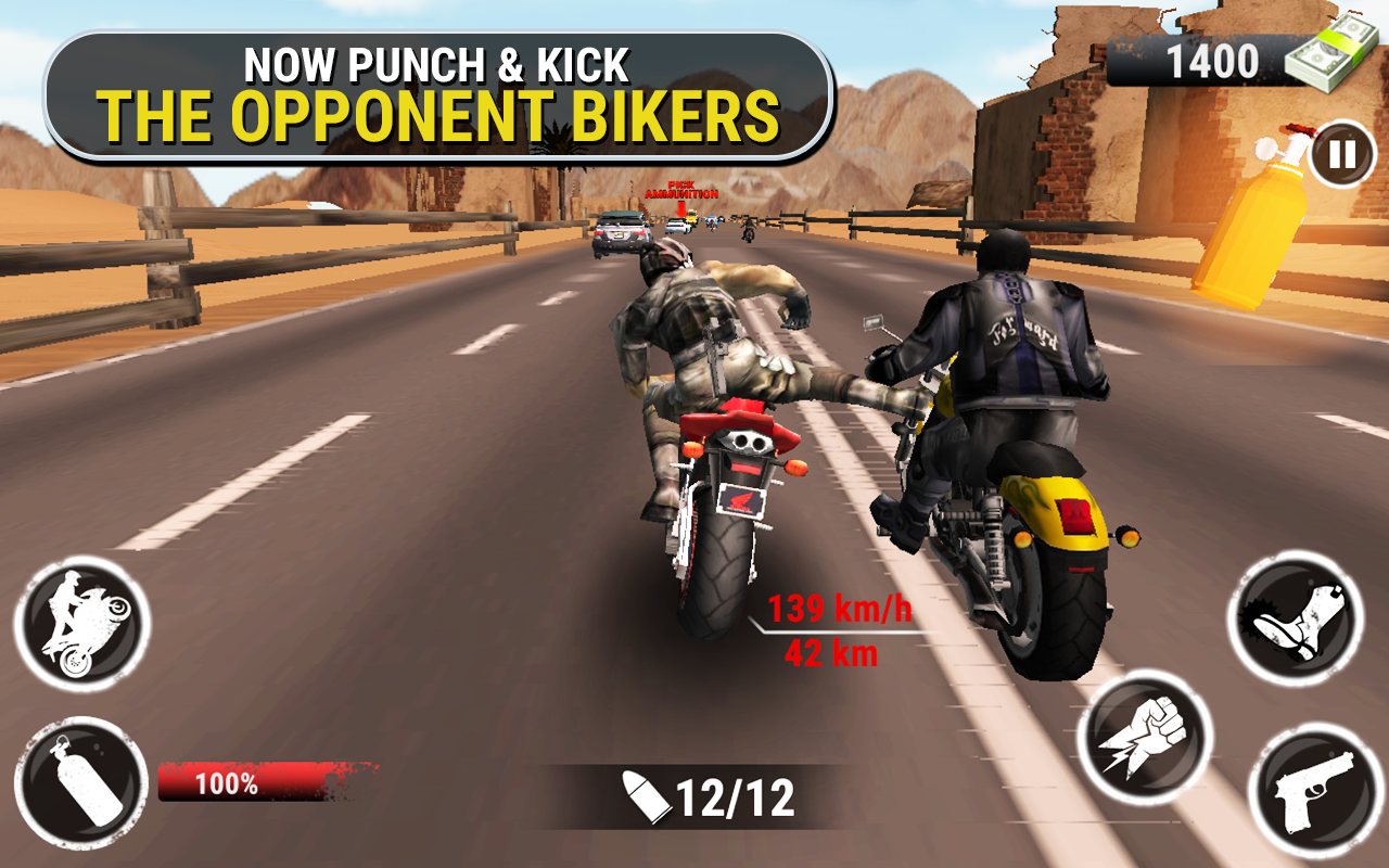 Ghost Racer - Bike Games - Car Games