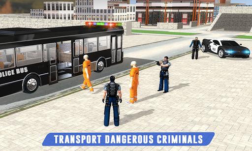 Prisoner Transport: Police Bus