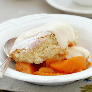 Fruit Sponge Dessert.