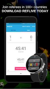 Football Referee App - RefLIVE - náhled