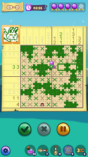 The Mystic Puzzland - Griddlers & Nonogram Puzzles apktram screenshots 1