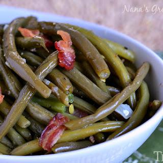 My Nana's Famous Green Beans