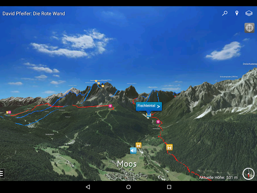 David Pfeifer: Die Rote Wand Apps (APK) gratis downloade til Android/PC/Windows screenshot