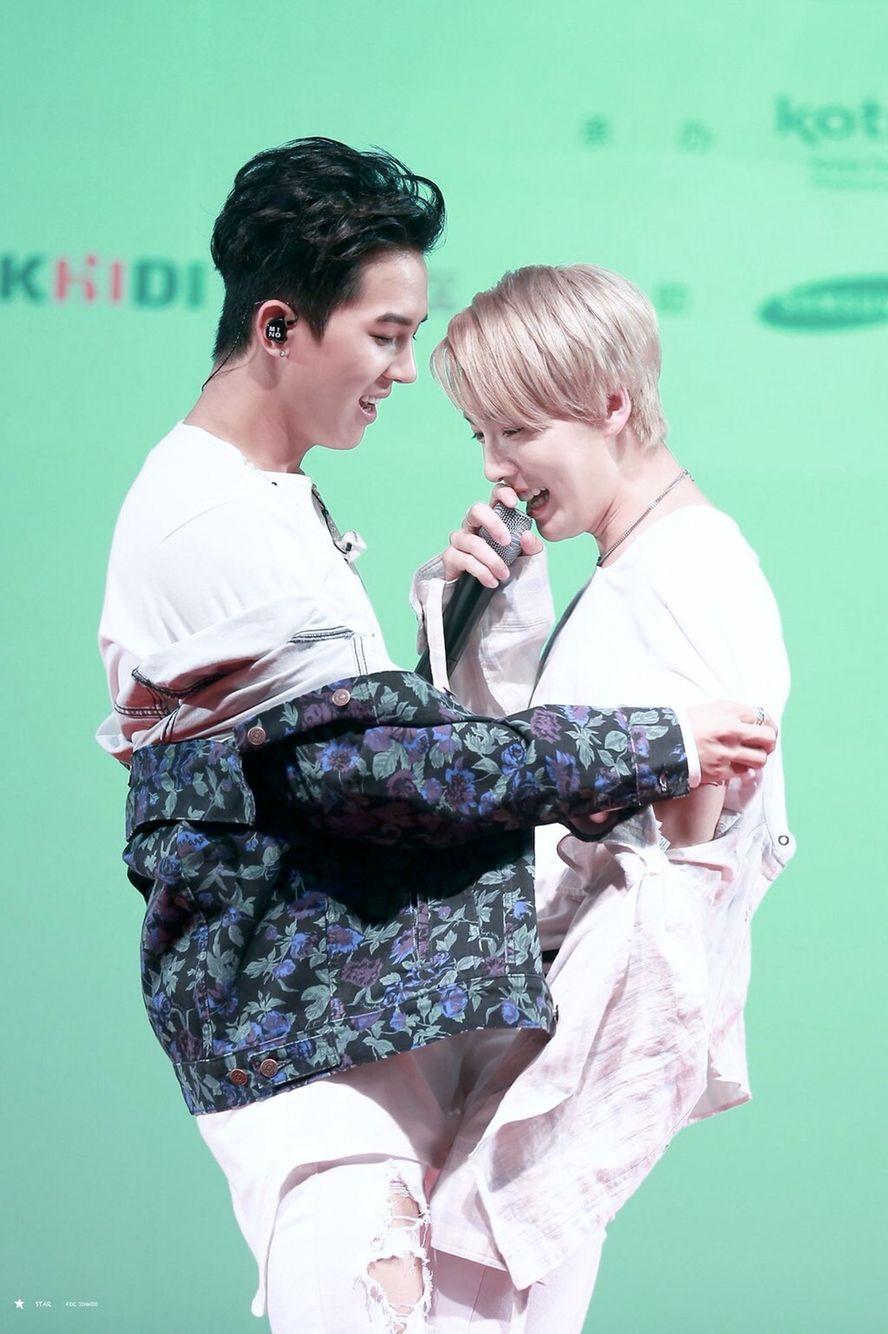 WINNER Mino and Jinwoo