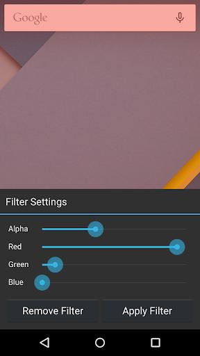 Blue Light Screen Filter App