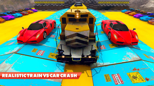 Train Vs Car Crash: Racing Games 2019 android2mod screenshots 12