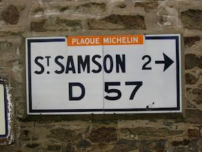 Photo: 22, St-Samson sur Rance  - La hisse - Carrefour D12/D57