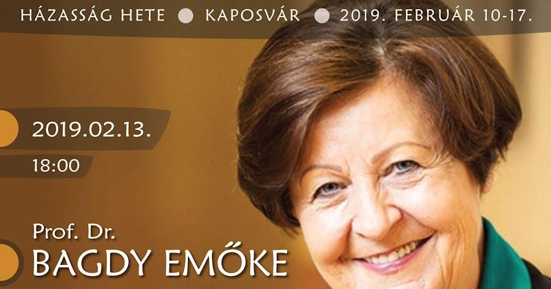 Bagdy Emőke előadása Kaposvár 2019.02.13