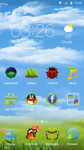 Earth Day Hola Launcher Theme