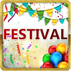 Festivals Greeting Cards Maker icon