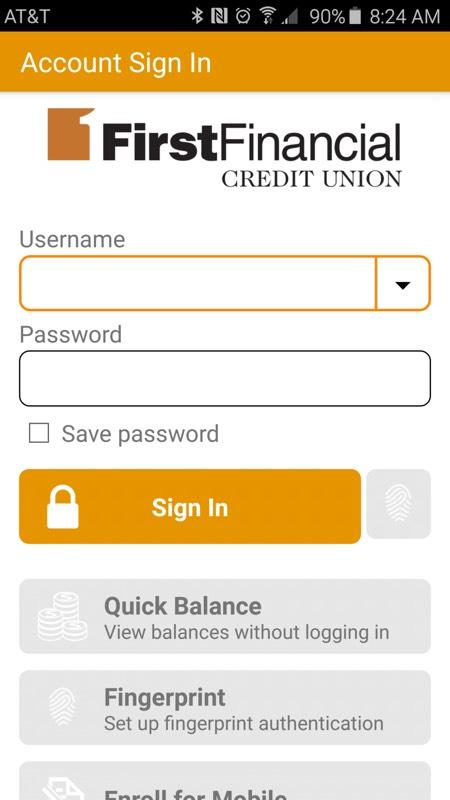 FFCU Mobile- screenshot