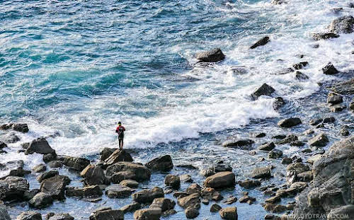Best Hikes in Europe for Long Distance Hiking Trails // Italy Fisherman in Rota Vicentina Photo Credit A World to Travel