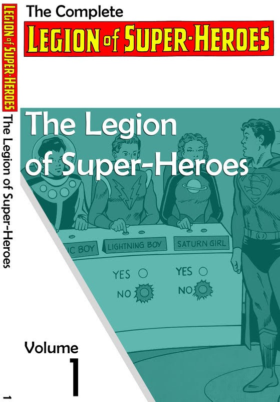 The Legion of Super-Heroes Chronology (2016) - complete