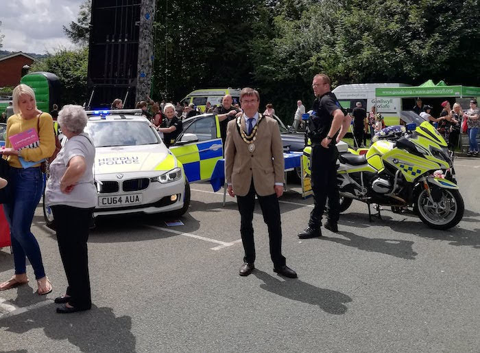 Officer praises police staff and public for open day success