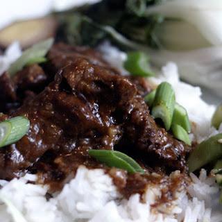 Boneless Asian BBQ Beef Ribs.