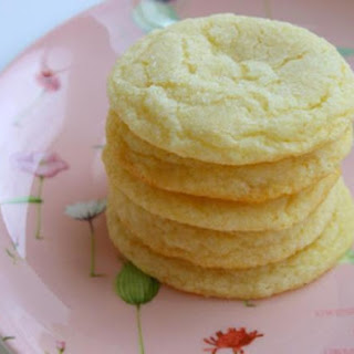 Chewy Lemon Cookies.