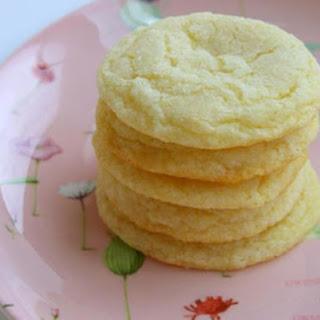 Chewy Lemon Cookies.