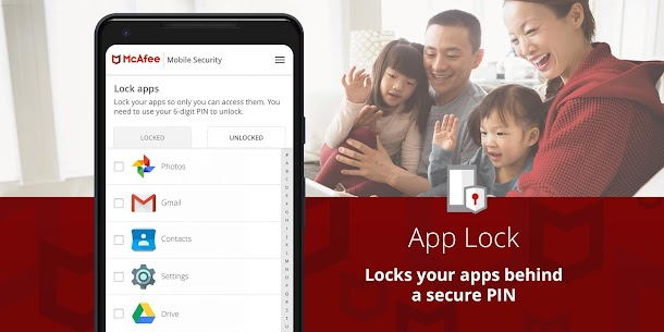 McAfee Mobile Security : Antivirus, Web Scan & App Lock 7