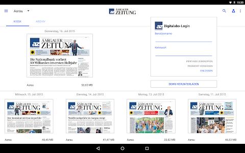 az Aargauer Zeitung E-Paper screenshot 4