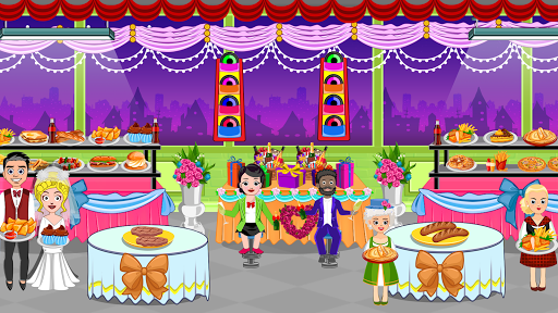 Pretend Town Wedding Party android2mod screenshots 2