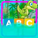 Salta Con Dino - Aprende el abecedario en español icon