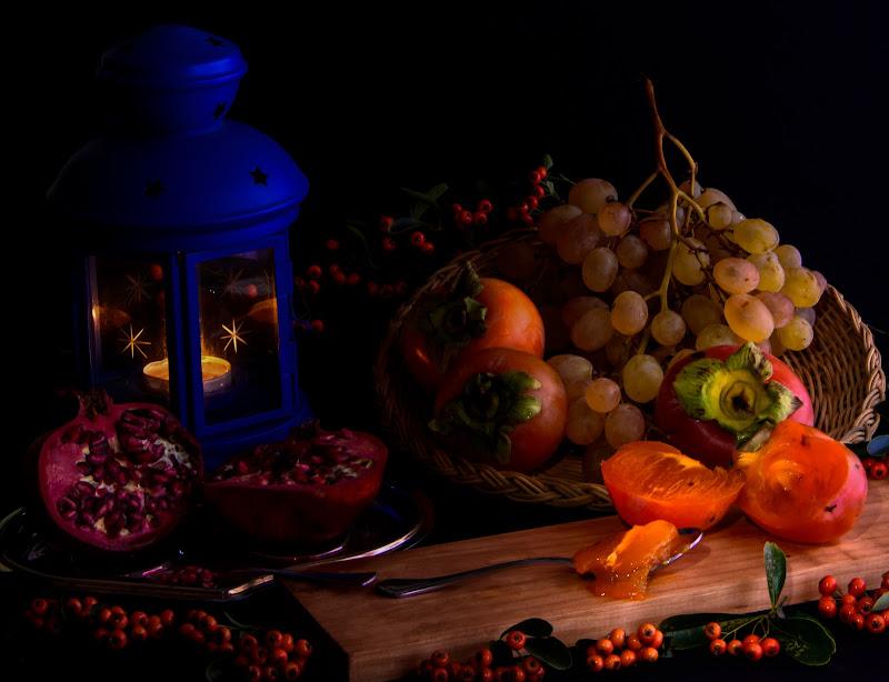 Frutta d'autunno.....in tavola di DanteS