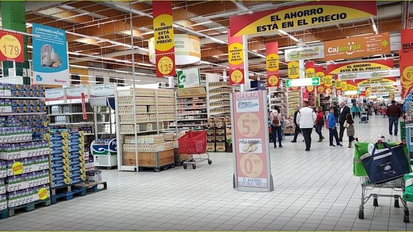Alcampo, en en el Centro Comercial Mediterráneo.