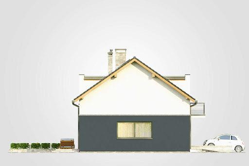 Double House - Elewacja lewa