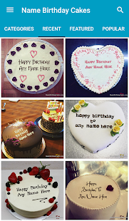 Name Birthday Cakes & Wishes- screenshot thumbnail