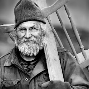 by AndreJa Ravnak - People Portraits of Men ( senior citizen )