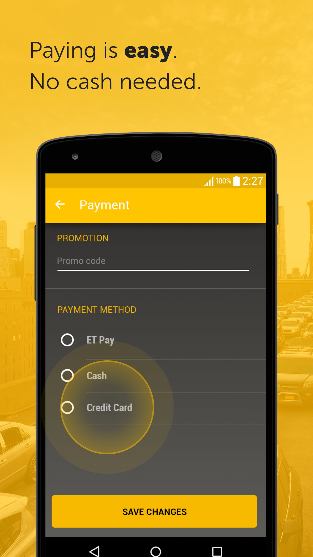 Easy - taxi, car, ridesharing screenshot #3