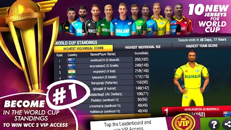 World Cricket Championship 2 - WCC2 APK screenshot thumbnail 7