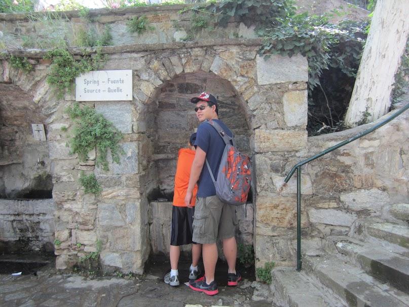 spring water, Virgin Mary's house, Ephesus
