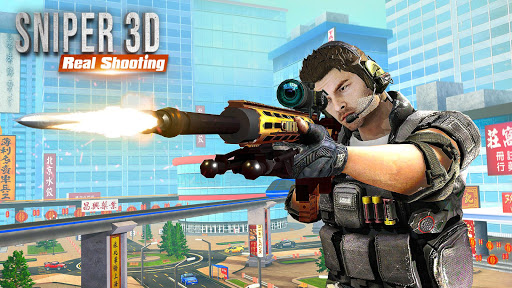FPS Sniper 3D Assassin: Offline Gun Shooting Games screenshots 1