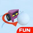 Snowmobile Battle-fun snowball collision .IO Games icon