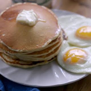 Malted Pancakes.