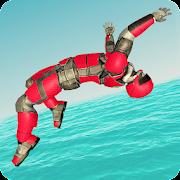 Robot Water Slide