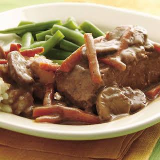 Easy Slow-Cooker Steak Pot Roast.