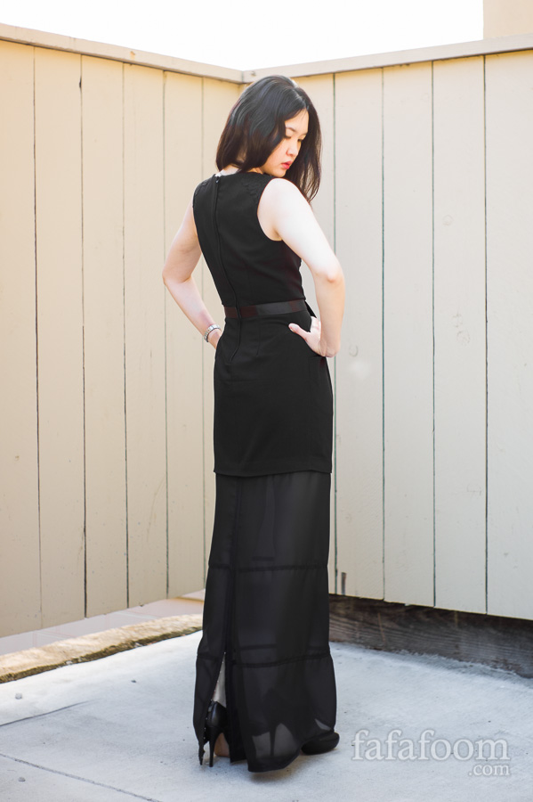 Result: Removable Dress Extension - DIY Fashion Garments | fafafoom.com