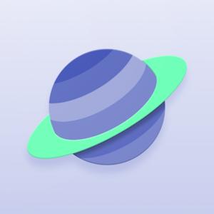 Saturn Kwgt v2.0 by Chris J4ck logo