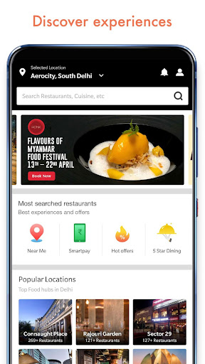 Dineout: Restaurant Booking, Reviews & Food Deals  screenshots 1