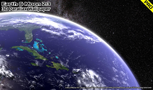 Earth & Moon in HD Gyro 3D PRO Parallax Wallpaper  screenshots 11