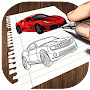 How To Draw Cars - Full Version APK icon