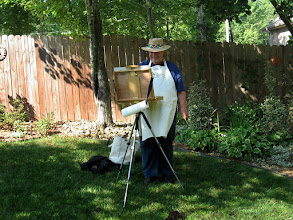 Photo: Plein Aire Painter, Phil Wright