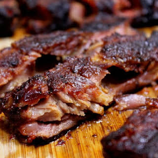 Smoked Spare Ribs that Literally Fall Apart.
