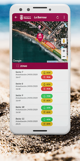 PlayasApp Chiclana screenshot 2