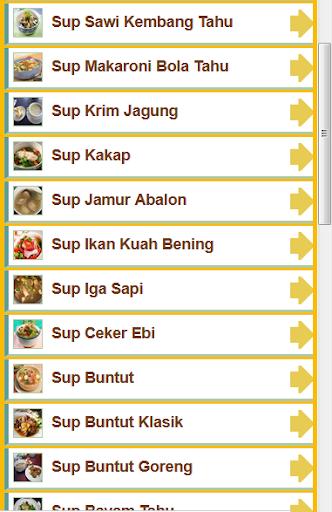 29+ Resep Sup Pilihan